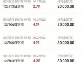 京东金融银行存款产品:振兴智慧存001/002/003/004期到底什么区别?