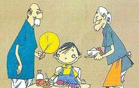 个人经历谈一谈老人带孩子,以及孩子成了什么糟糕的样子图片 No.1