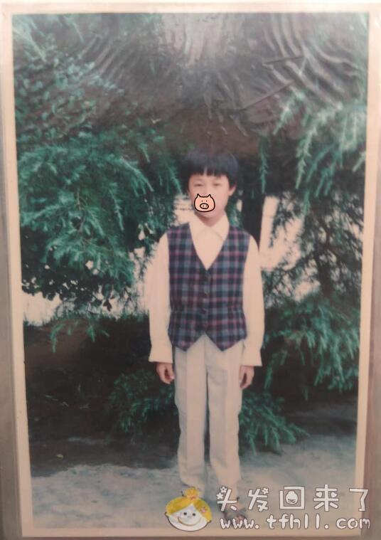 偶然获取了我小时候的照片,看看逝去的旧时光图片 No.2