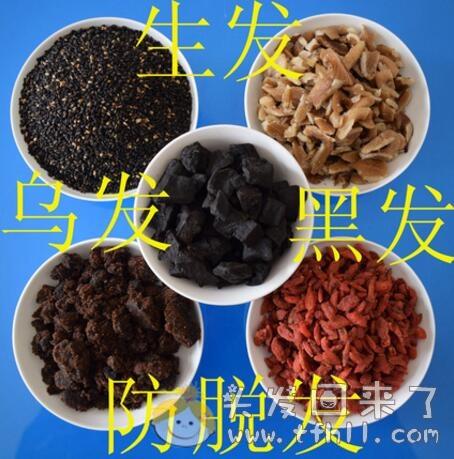 治疗脂溢性脱发,个人使用的食疗篇(生发粉)图片 No.1