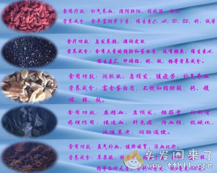 治疗脂溢性脱发,个人使用的食疗篇(生发粉)图片 No.5