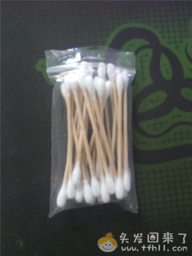 擦生发药水用的棉签有什么讲究?图片 No.2