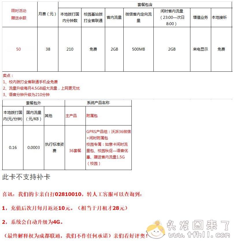 将联通卡4G套餐-30元套餐(京闽琼宁)变更为20元每月的耍卡图片 No.5