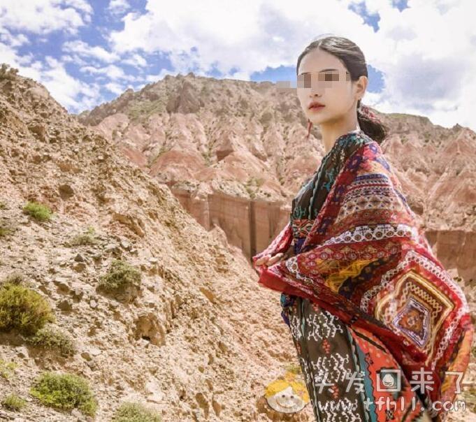 买18件衣服旅游西藏后,又全部退回!黄谭雅的这波操作真是秀到了图片 No.2