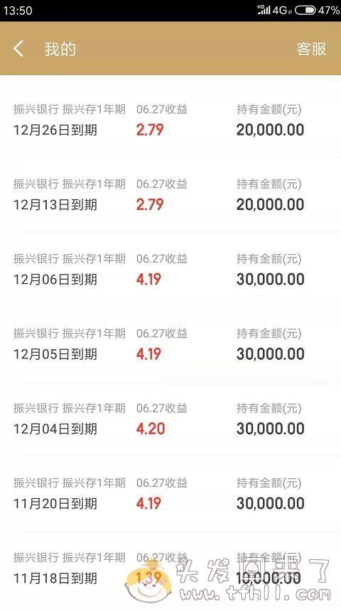 京东金融银行存款产品:振兴智慧存001/002/003/004期到底什么区别?图片 No.1