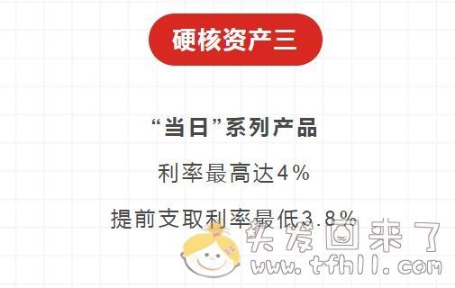 京东金融一站通推送的三款银行存款,最高年化利率5%,可随时存取图片 No.5